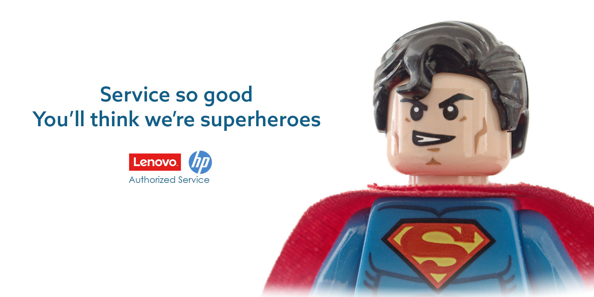 service so good you'll think we're superheroes