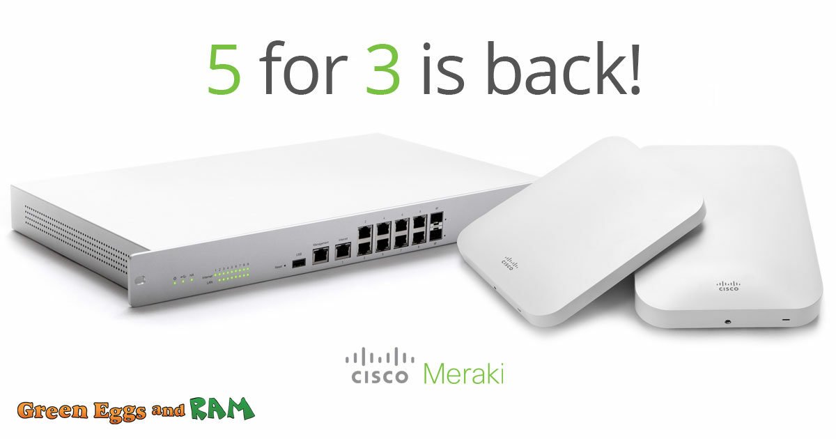 cisco meraki access point and router